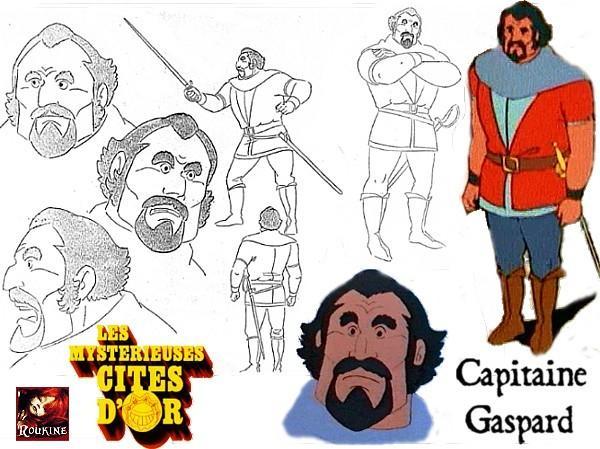 Capitaine gaspard les mysterieuses cites d or