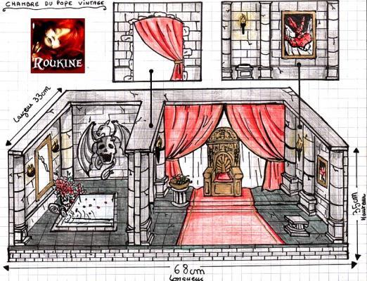 Chambre du pope