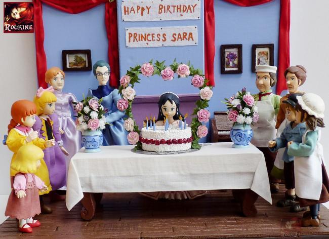 Decor princesse sarah l anniversaire 2