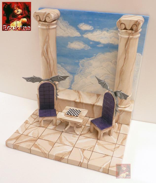 Diorama lost canvas l echec des dieux pour nicolas 2