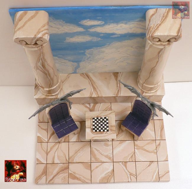 Diorama lost canvas l echec des dieux pour nicolas 4