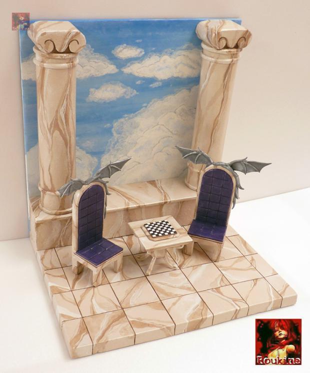 Diorama lost canvas l echec des dieux pour nicolas