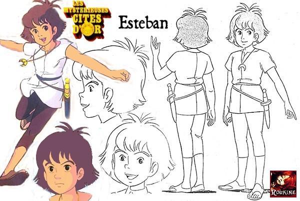 Esteban les mysterieuses cites d or