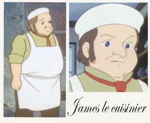 James le cuisinier
