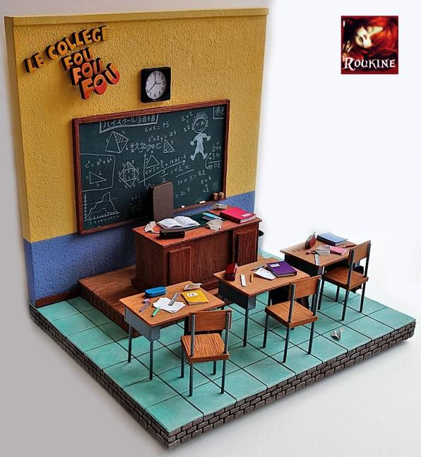 Le college fou fou fou decor 20