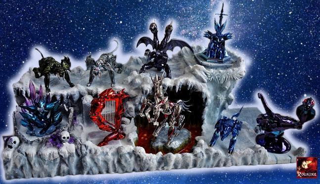 Le parcours des armures divines 2