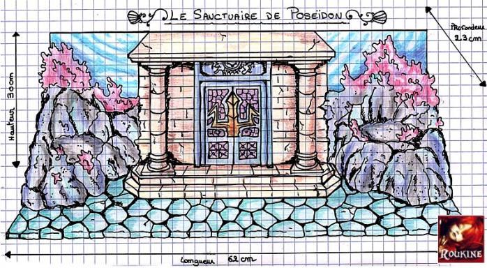 Le sanctuaire de poseidon