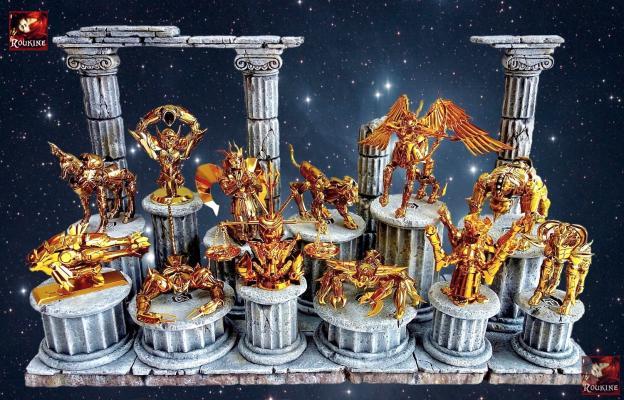 Le sanctuaire des armures d or 1