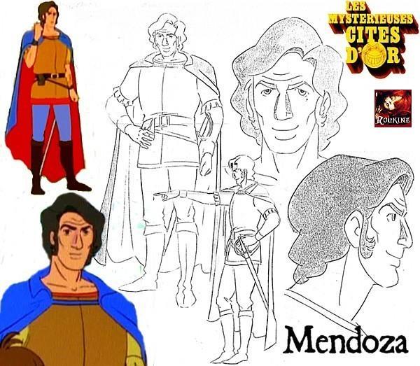 Mendoza les mysterieuses cites d or