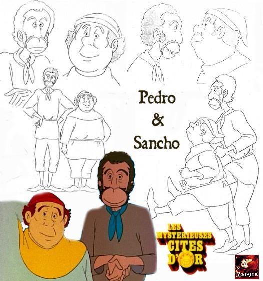 Pedro et sancho les mysterieuses cites d or