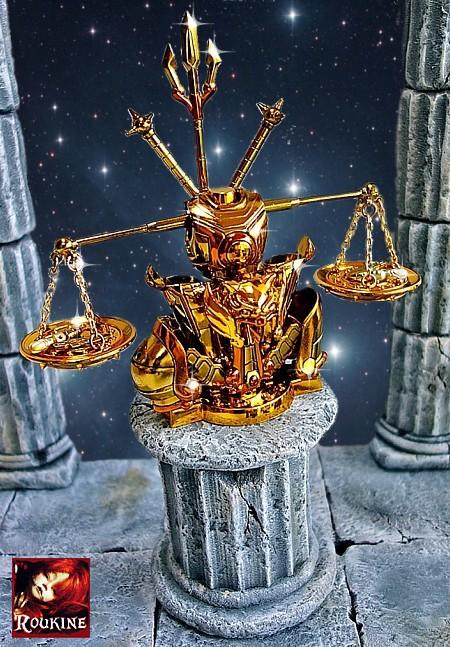 Piedestal balance saint seiya
