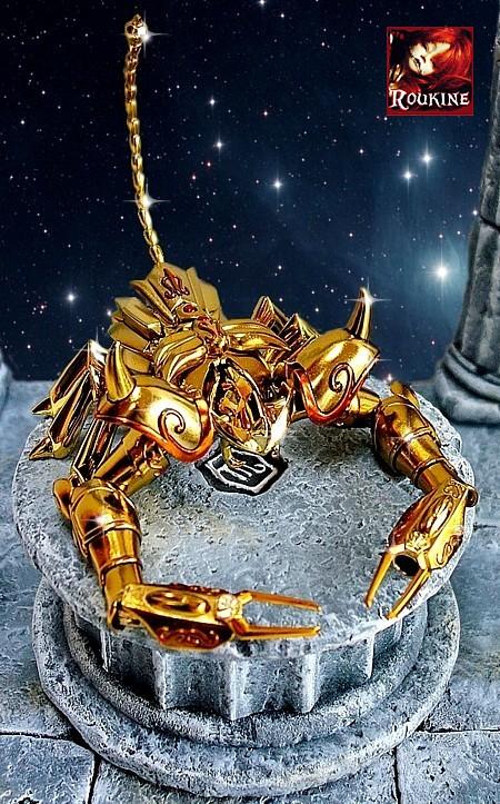 Piedestal scorpion saint seiya