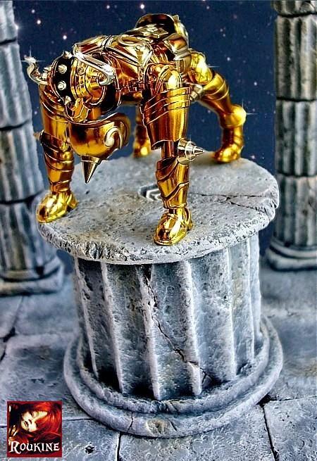 Piedestal taureau saint seiya