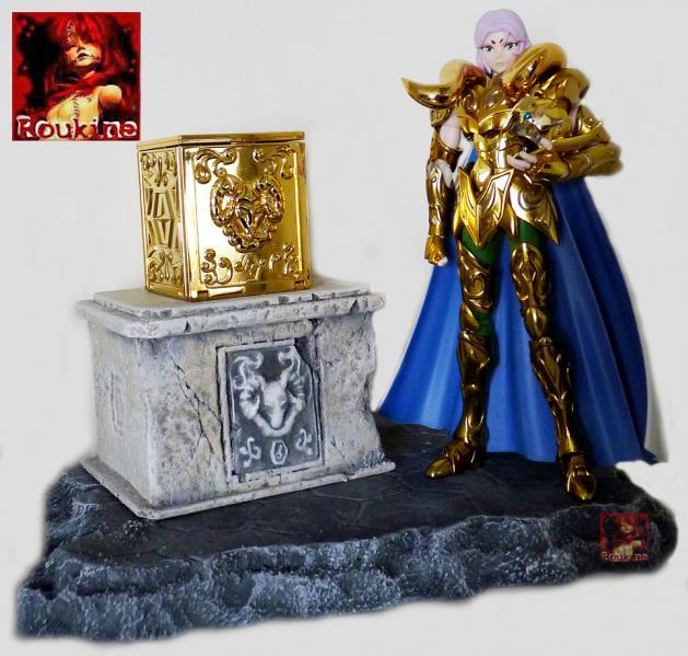 Piedestal zodiacal belier