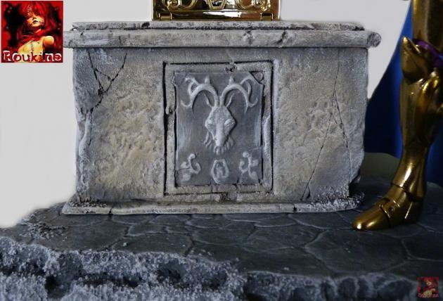 Piedestal zodiacal capricorne 2