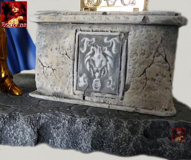 Piedestal zodiacal lion 2