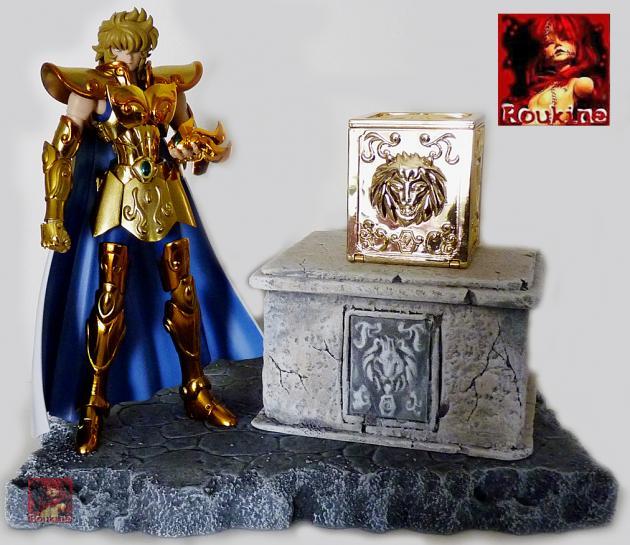 Piedestal zodiacal lion
