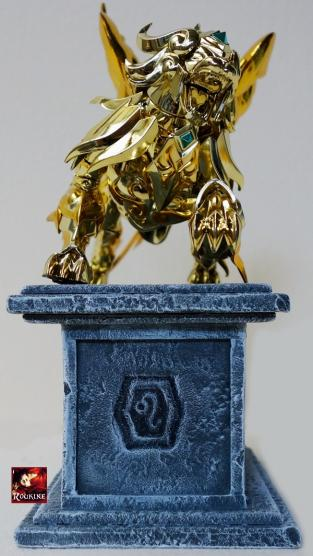 Piesdestal lion soul of gold 3