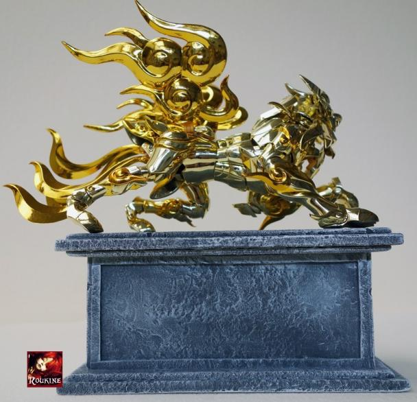 Piesdestal lion soul of gold 4