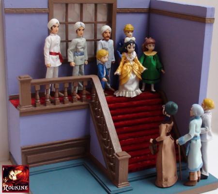 Princesse sarah decor echec et mat melle mangin pour julian etape final 3