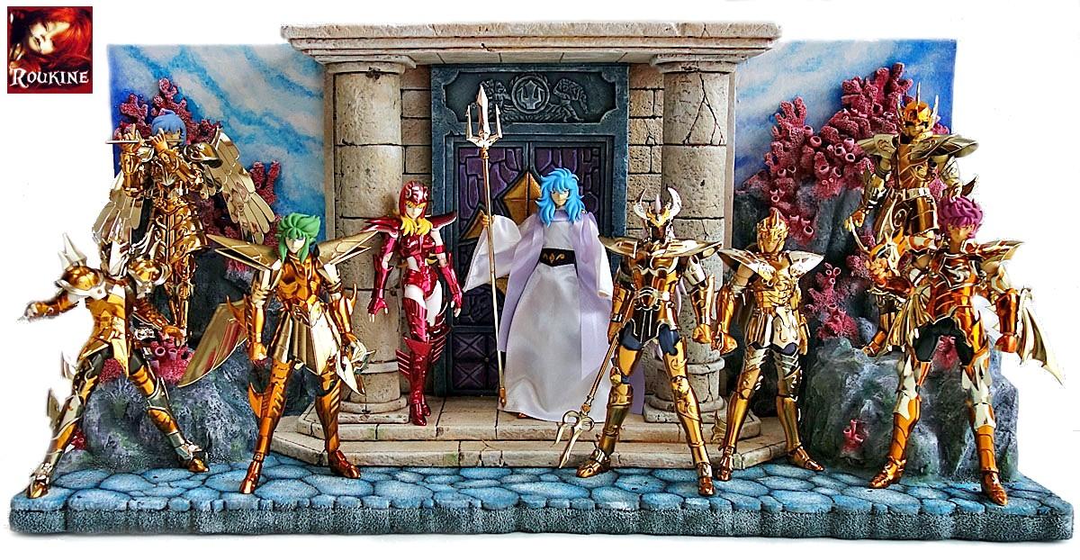 saint seiya chevaliers du zodiaque roukine diorama
